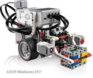 LEGO Mindstorms EV3 con nombre